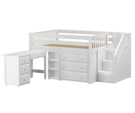 maxtrix perfectl storage  loft bed  stairs desk
