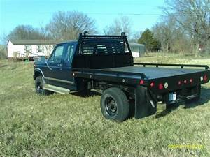 1986 Ford F 250 Diesel 4 Speed 4x4 Flatbed For Sale