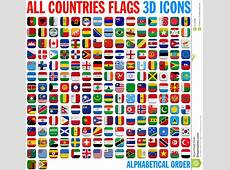 All Country Flags Complete Set Stock Illustration Image