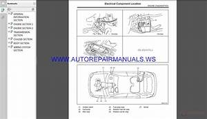 Subaru Impreza G11 2005 Service Manual