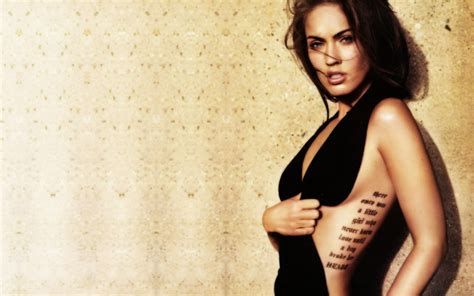Megan Fox Wallpaper 1920x1080 Megan Fox Tatoo Actriz Celebrities Wallpaper 2560x1600 1271386 Wallpaperup