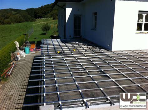 wpc unterkonstruktion alu bilder wpc aluminium alu unterkonstruktion f 252 r