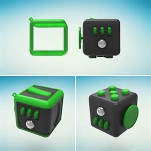 Fidget Keychain Cube