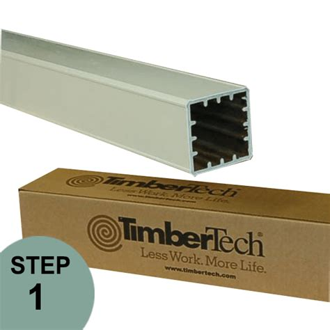 radiance post cover  timbertech  deck store