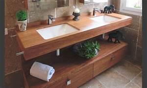 Meuble Salle De Bain Zen : meuble salle de bain zen bois ~ Teatrodelosmanantiales.com Idées de Décoration