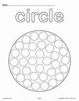 Circle Shapes Dot Preschool Coloring Worksheets Pages Printable Printables Shape Activities Tracing Worksheet Cutting Preschoolers Toddlers Practice Circles Kindergarten Painting sketch template