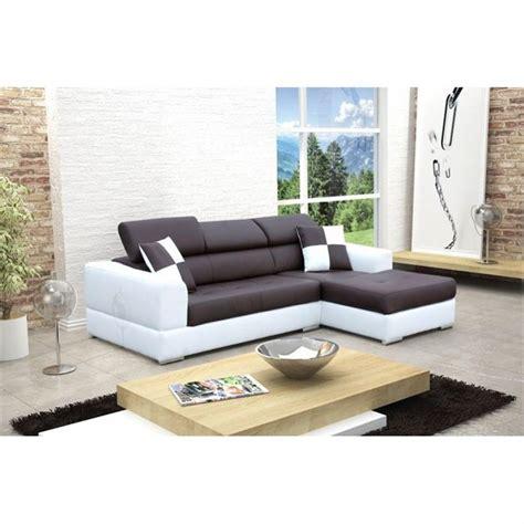 canape blanc d angle photos canapé d 39 angle design noir et blanc