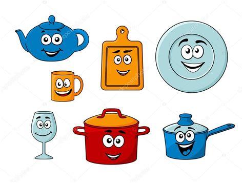 collection d ustensiles de cuisine de dessin anim 233 image vectorielle seamartini 169 43647869