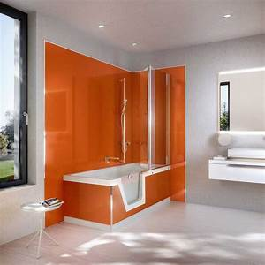 beau revetement mural bois salle de bain avec salle de With revetement salle de bain mur