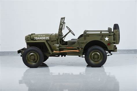 willys army jeep 1941 jeep willys mb military motorcar classics exotic
