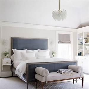 chambre bleu et gris idees deco en tons neutres et froids With peinture chambre bleu et gris