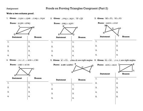 triangle congruence worksheet answers homeschooldressage com