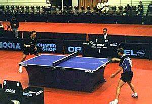 Competitive table tennis.jpg  Table Tennis Sports