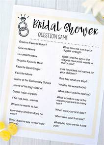 Funny Question Game Wedding Shoe Questions Printable Image Mag