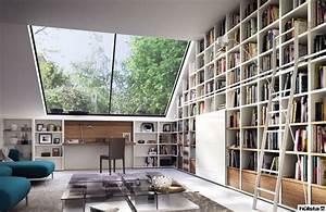 Bücherwand Mit Tv : die besten 25 b cherwand ideen auf pinterest ~ Michelbontemps.com Haus und Dekorationen