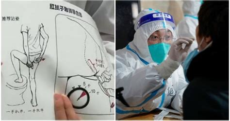 China now using 'ANAL swabs' to test for Covid-19 | The ...