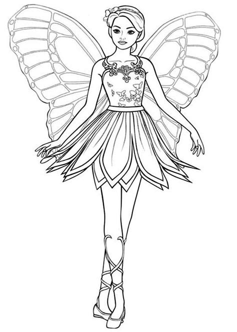 Kleurplaat Mariposa by Mariposa Coloring Pages Kidsuki
