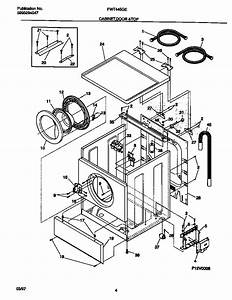Ge Front Load Washer Parts Diagram