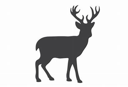 Deer Silhouette Clipart Reindeer Clip Svg Transparent