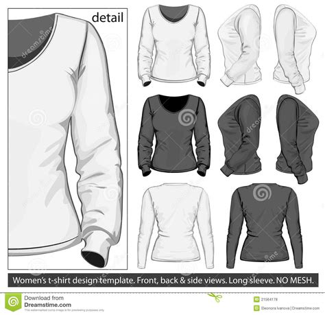 Designing A Sleeve Template by S T Shirt Design Template Sleeve Stock Vector