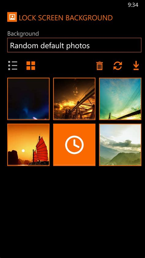 windows phone app   day lockie lock screen customization