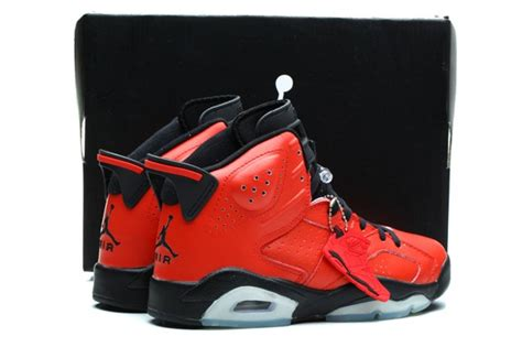 Nike Air Jordan 6 Retro Vi Infrared 23 Red Toro 384664 623