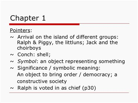 decorous definition lord of the flies lord of the flies setting and characters