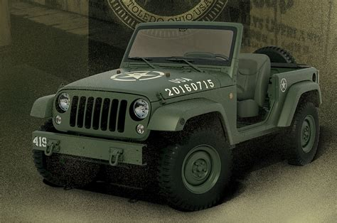 jeep wrangler jeep celebrates birthday with wrangler 75th salute concept