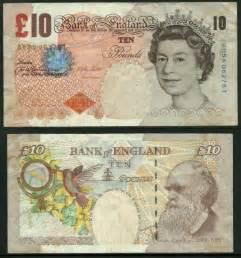 British 10 Pound Note