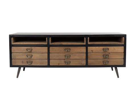 Large Wood Cabinet by Sol Cabinet Amp Sideboard Dutchbone