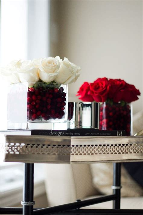 decor diy holiday roses   standard floral