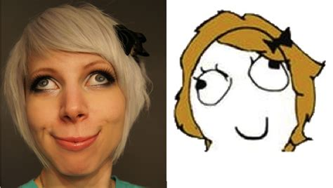 Girl Meme Face - derpina girl face in real life by siegeredwolf meme brought to life