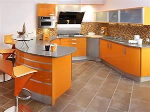 vente de cuisine avec portes laquees a saint seurin acr With plan de travail cuisine arrondi