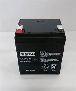 Batterie 12v 4ah : pro power 12v 4ah fire alarm battery for 12v brooks equipment bat124 ebay ~ Medecine-chirurgie-esthetiques.com Avis de Voitures