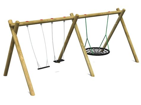 flat nest swing playground swings action play leisure