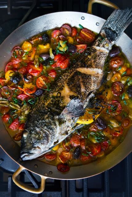 roasted sea bass provencal recipe relish