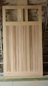 fabrication bois porte de garage a pornic 44210 With fabrication d une porte en bois