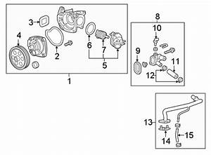 Chevrolet Equinox Engine Coolant Bypass Pipe