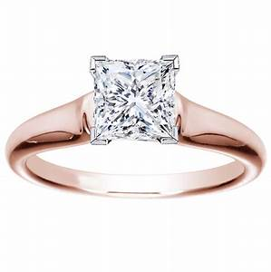 rose gold engagement rings for women gold engagement rings With rose gold wedding rings for women