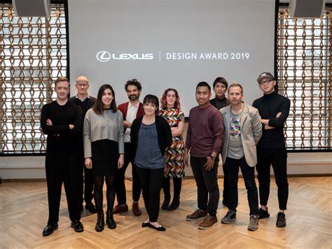 finalists advance    lexus design award