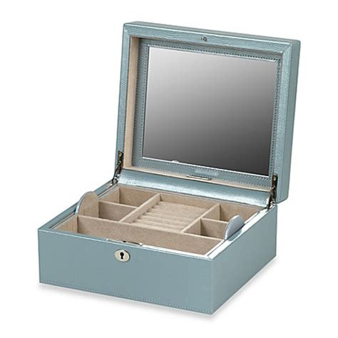 buy wolf designs london square jewelry box  ice  bed
