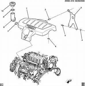 Pontiac Grand Prix Gt 4dr Bracket  Engine Fuel Intake