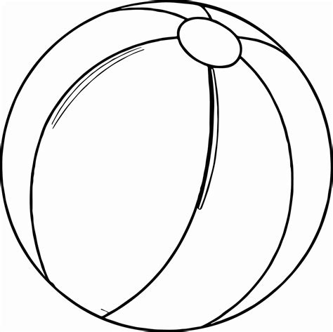 beach ball coloring page  getcoloringscom