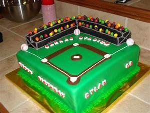 Baseball Field Birthday Cake - CakeCentral com