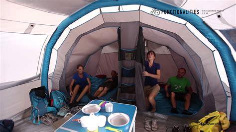 toile de tente decathlon quechua air seconds family 5 2 xl functionalities