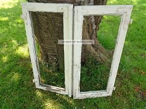 Alte Fenster Deko : 2 alte fl gelfenster fenster holz sprossenfenster antik ~ Lizthompson.info Haus und Dekorationen