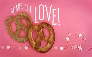 Auntie Anne's Heart-Shaped Pretzels Are THE Valentine's ...