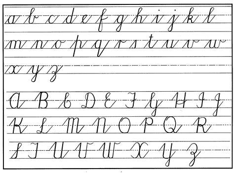 cursive alphabet  cool funny
