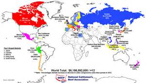 Maps Canada Trade Agreements