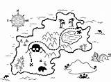 Map Coloring Pirate Printable Treasure Drawing Maps Warcraft Blank Colouring Trade Getdrawings Getcolorings Template Pirates Colorings sketch template